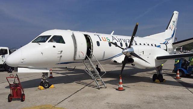 מטוס TUS Airways (צילום: TUS Airways) (צילום: TUS Airways)