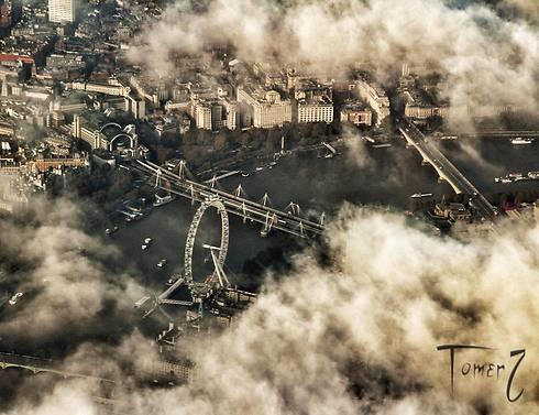 """ה""""London Eye"""" בעדשה של תומר צדוק (צילום: תומר צדוק) (צילום: תומר צדוק)"""