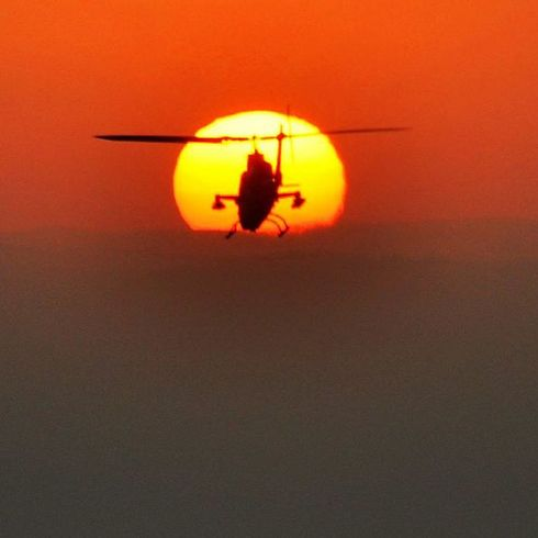 מסוק קוברה (צילום: תומר צדוק) (צילום: תומר צדוק)