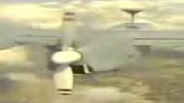 An Israeli drone