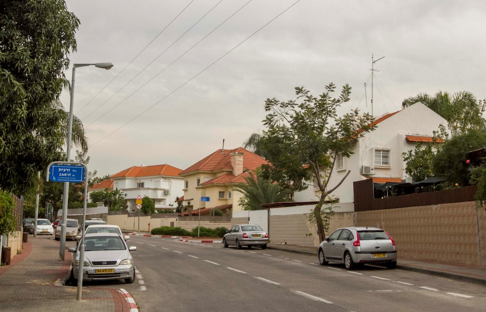 שכונת גבעת הסלעים (צילום: עידו ארז) (צילום: עידו ארז)