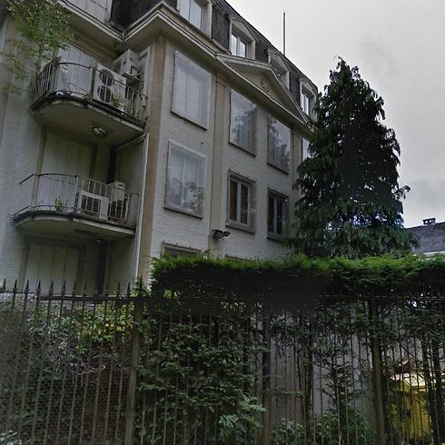 שגרירות ישראל בבריסל (צילום: Street View on Google Maps) (צילום: Street View on Google Maps)