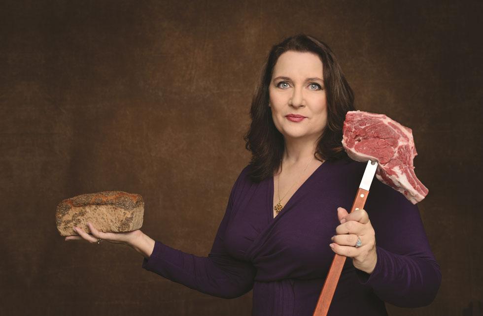 """גברת קדמוני: תמי סירקיס השילה 18 ק""""ג ממשקלה עם דיאטת פליאו. לחצו לכתבה (צילום: יונתן בלום)"""
