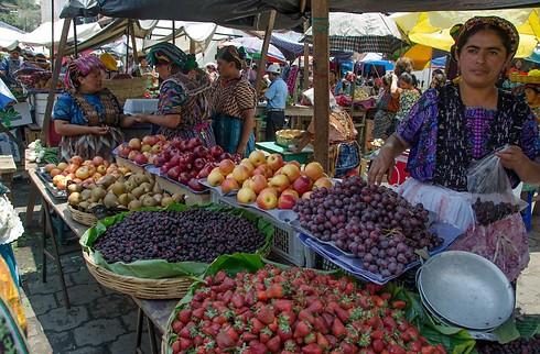 טעמים וריחות בשוק גואטמלי (באדיבות ארכיון מלכת המדבר)