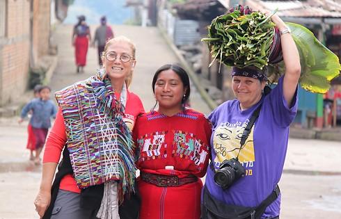 השבטים הכי צבעונים באיזור הנבך בגואטמלה (צילום: סיגל יושע)