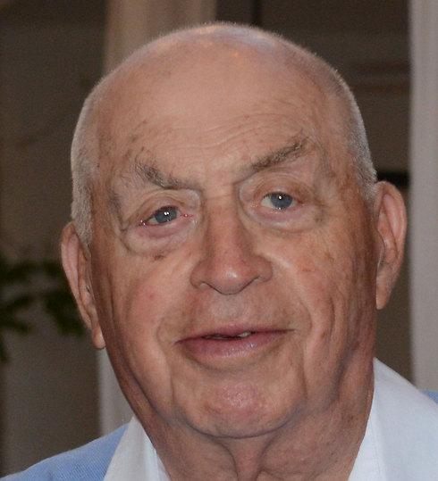 Dutch Holocaust survivor Abraham Roet
