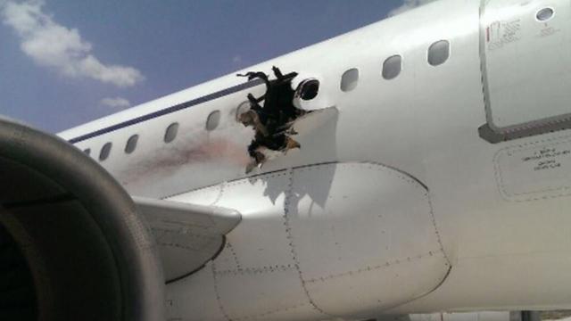 החור במטוס הסומלי ()