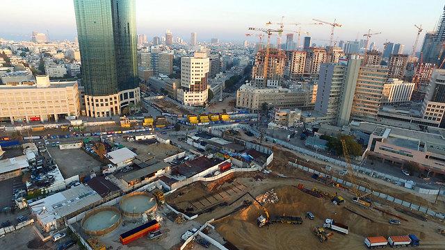 עבודות הרכבת הקלה בתל אביב ()