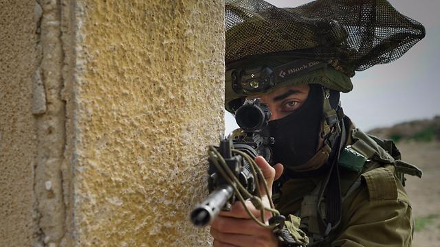 """תרגיל חטיבתי של חטיבת הקומנדו (צילום: דובר צה""""ל) (צילום: דובר צה"""