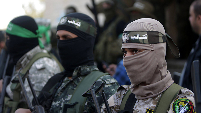 Members of Hamas' Izz ad-Din al-Qassam Brigades. (Photo: AFP)