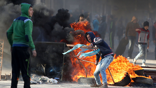 The Palestinian youth are not about to give up. (Photo: AFP)