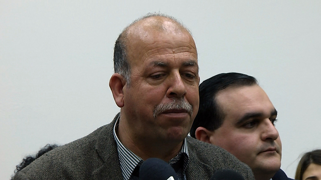 Hussein Abu Khdeir, the victim's father (Photo: Eli Mendelbaum)