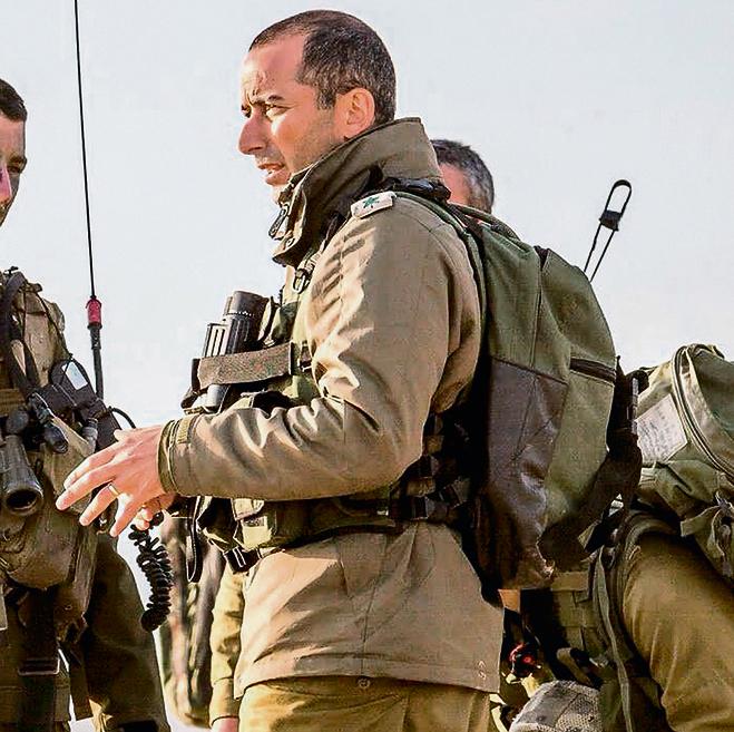 Commander of the Kfir Brigade, Col. Guy Hazut