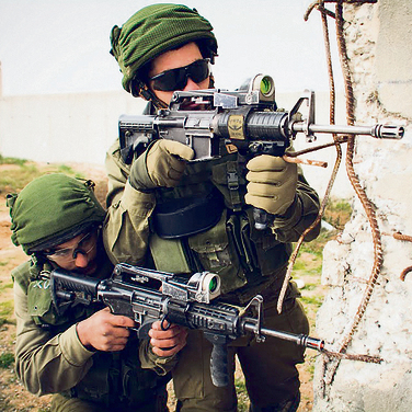 Kfir Brigade fighters training