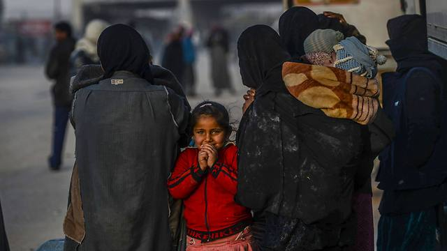 Refugees feeling Aleppo. The Nigerians and Somalis' situation is much worse than the Syrians' situation, but they don't have any Internet access, so no one is moved (Photo: AFP)