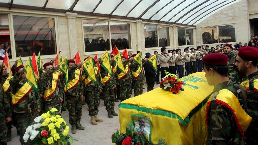 הלוויית איש חיזבאללה שנהרג בסוריה. האיום האסטרטגי הגדול (צילום: EPA) (צילום: EPA) (צילום: EPA)