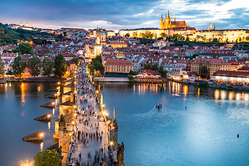 תמיד רומנטית: בירת צ'כיה (צילום: shutterstock) (צילום: shutterstock)
