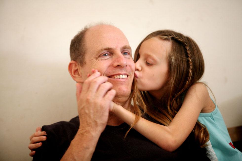 """ליאור לפיד: """"תצטלמו בטיולים, כל המשפחה יחד, כדי שתהיה תמונה ליום המשפחה"""" (צילום: קובי בכר)"""