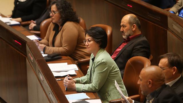 הערב במליאת הכנסת (צילום: אלכס קולומויסקי) (צילום: אלכס קולומויסקי)