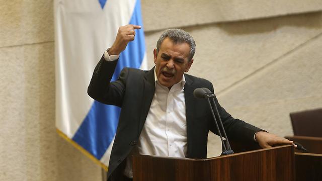 Arab MK Jamal Zahalka (Photo: Alex Kolomoisky)