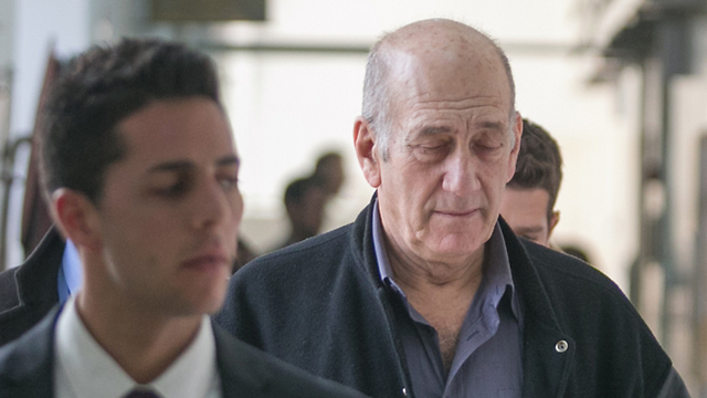 Olmert (Photo: Ohad Zwigenberg)