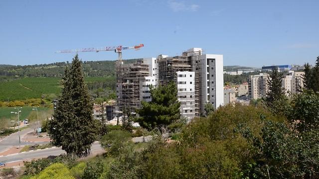 בנייה חדשה במגדל העמק (צילום: דוברות עיריית מגדל העמק) (צילום: דוברות עיריית מגדל העמק)