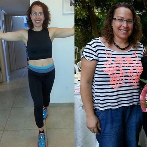 שלי קובוס. שילוב של תזונה מסודרת ופעילות גופנית ( )