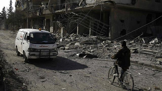 Damascus (Photo: AFP)