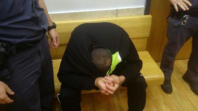 חוסין רחאל, הנאשם ברצח אחותו רנין בזרזיר ()