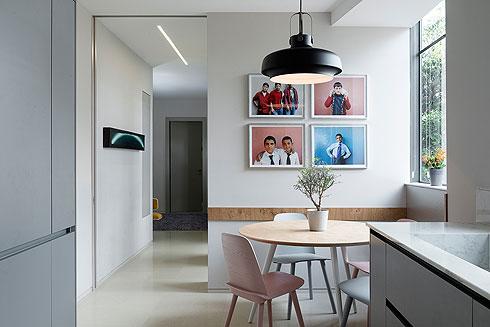 קומה שלמה, 2 דירות ומשפחה אחת. לחצו לכתבה המלאה (צילום: גדעון לוין)