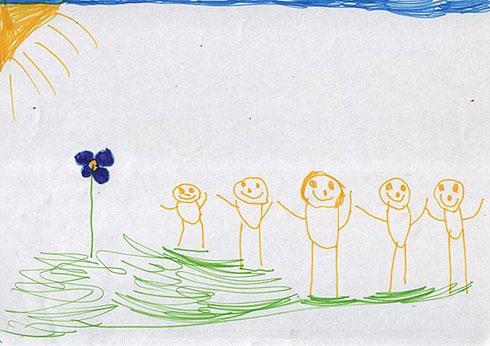 """""""משפחה בה לא קיימת הפרדה בריאה בין יחידת ההורים ליחידת הצאצאים, כולם באותו המעמד. מצב שעלול להיחוות כמבלבל עבור חלק מהילדים"""""""