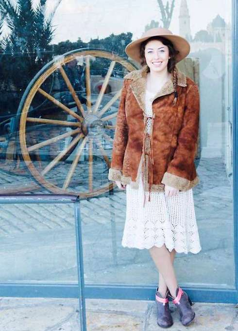 """הפקת אופנה עם פריטים מתוך """"בוידעם"""". מתוך הבלוג של נעמי איציקוביץ' (צילום: יהודית הרפז)"""