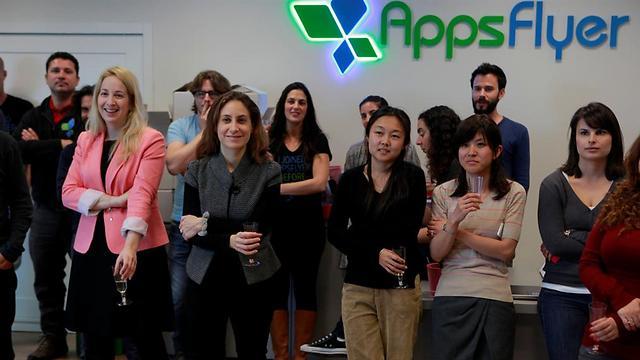 """AppsFlyer. מחפשת 100 עובדים (צילום: יח""""צ) (צילום: יח"""
