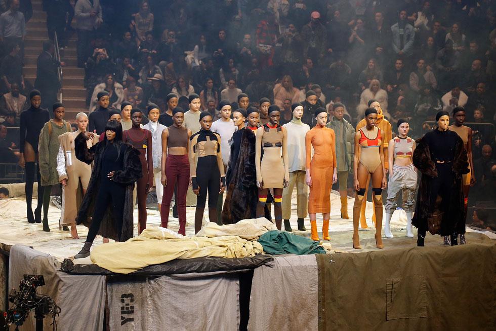 תצוגת אופנה, השקת אלבום ומה לא. קניה ווסט לאדידס (צילום: gettyimages)
