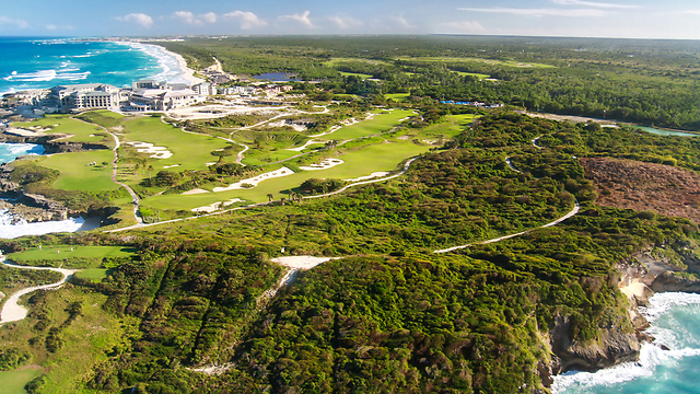 50 גוונים של ירוק וכחול: הרפובליקה הדומיניקנית מלמעלה (צילום: shutterstock) (צילום: shutterstock)
