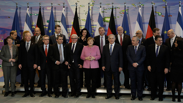 Israeli and German governments (Photo: AP)