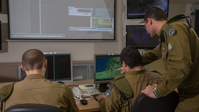 IDF's Cyber Division (Photo: IDF Spokesperson)