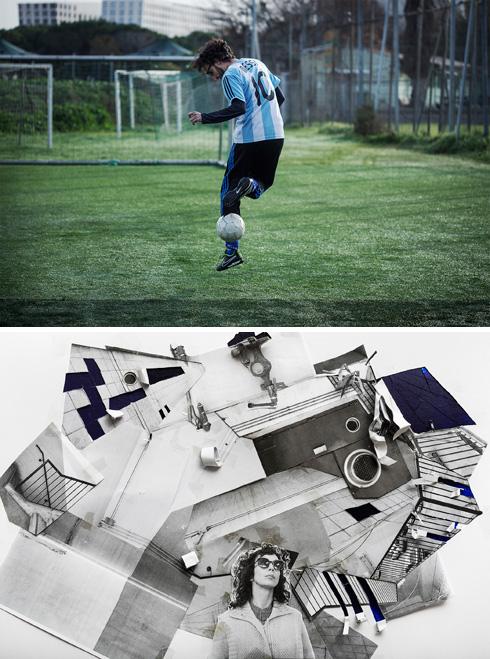 """מתוך """"צלמים מצלמים צלמים"""". למעלה: גסטון צבי איצקוביץ בצילום של רונית פורת. למטה: עילית אזולאי בצילום של יעל אפרתי (צילום: רונית פורת, יעל אפרתי )"""