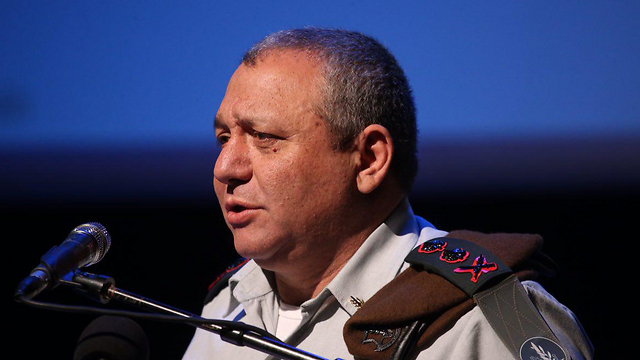 Chief of Staff Gadi Eisenkot (Photo: Motti Kimchi)