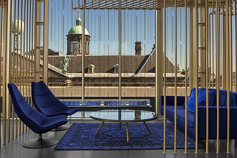 מלון W החדש באמסטרדם תוכנן מתל אביב. לחצו לכתבה המלאה (צילום: Lutz Vorderwuelbecke באדיבות: W interiors-courtesy of W Amsterdam)