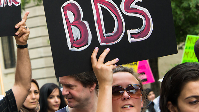 BDS Protesters.