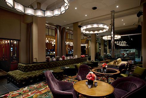 הקליקו על התמונה ותגיעו למסעדת ''הדוכסית'' במלון (צילום: Lutz Vorderwuelbecke באדיבות: W interiors-courtesy of W Amsterdam)