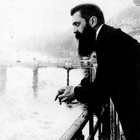 Theodore Herzl. Bahar and him combined Zionism and enlightenment values.