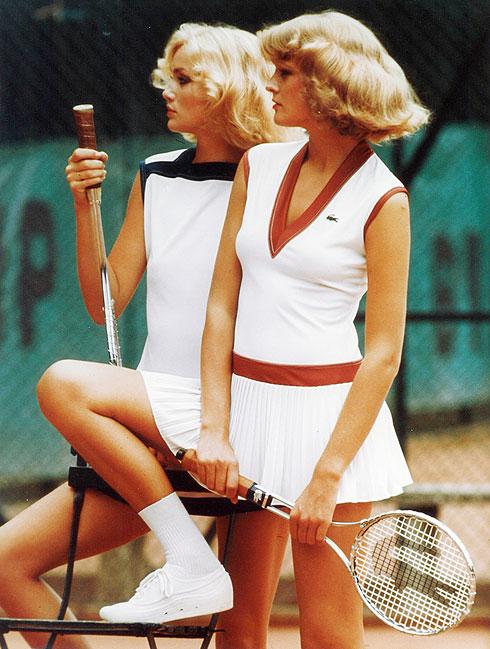 האופנה מבטאת את הרדיפה אחר בריאות וספורטיביות. 1976