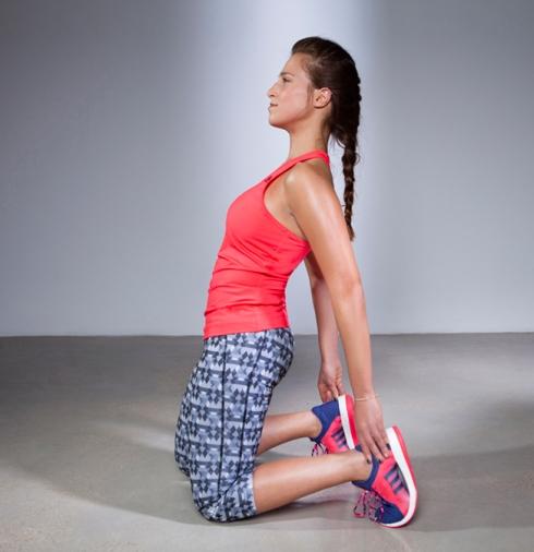 ריצה זה 90% בראש ו-10% יכולת. אני אוהבת לנצח את הקושי. רחלי שרעבי (צילום: רון קדמי)