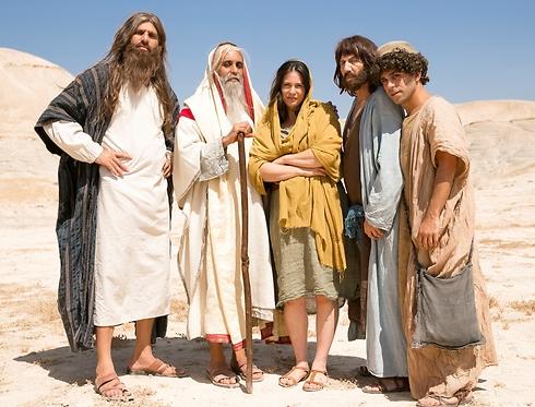 """""""היהודים באים"""". זווית הומוריסטית לתנ""""ך (צילום: רפי דלויה) (צילום: רפי דלויה)"""