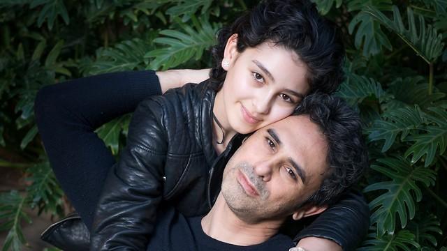 """מאי גורפינקל ז""""ל ואביה השף גולן גורפינקל (צילום: ירון ברנר)"""