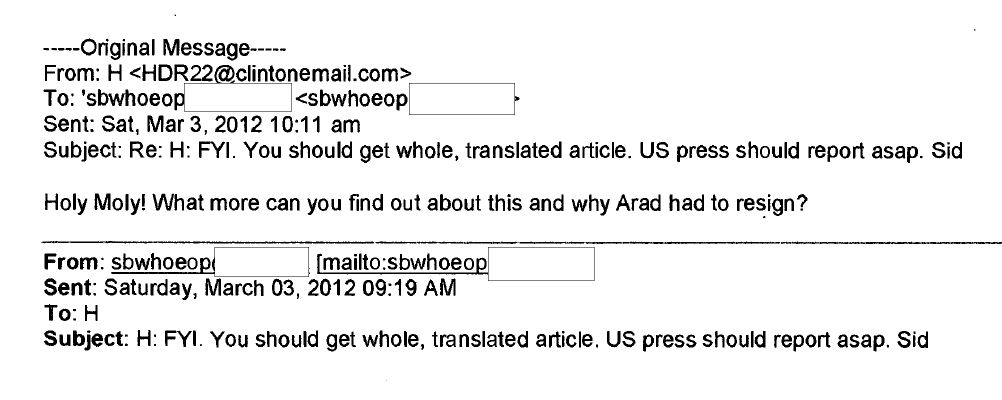 Clinton's e-mails