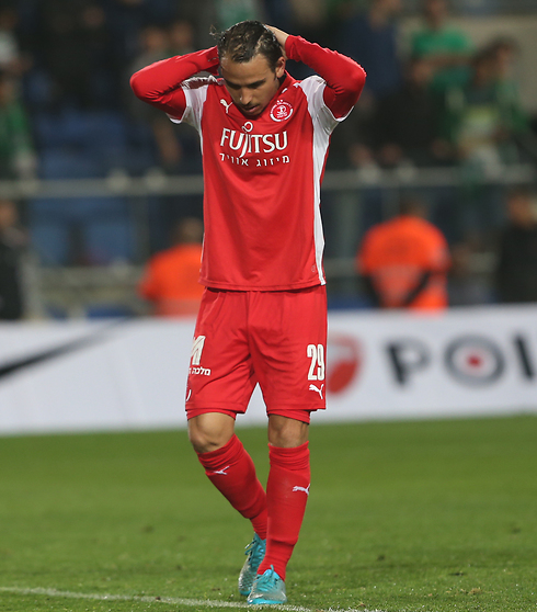 "גיא אסולין. ""הפוטנציאל הכי אדיר בכדורגל הספרדי"" (צילום: אורן אהרוני) (צילום: אורן אהרוני)"