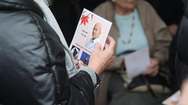 יוסי גרבר. מתקשים להיפרד (צילום: מוטי קמחי) (צילום: מוטי קמחי)